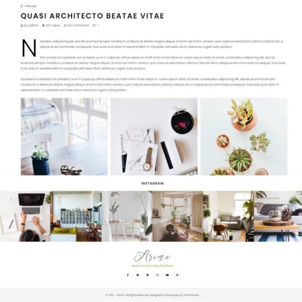 Plantilla para blog en Wordpress   Tienda de recursos de marketing, Diseño web, blog, tiendas online, redes sociales