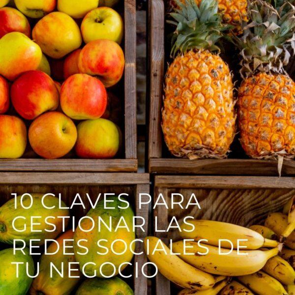 10 Claves para gestionar las redes sociales | Tienda de recursos de marketing, Diseño web, blog, tiendas online, redes sociales